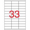 APLI 70x25,4 mm univerzális Etikett (100 lap)