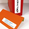 APLI Etikett, 12x30 mm, kerekített sarkú, A5 hordozón, APLI, 990 etikett/csomag