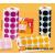 APLI Etikett, 20mm kör, kézzel írható, tekercsben, színes, APLI, piros 1700 etikett/csomag (LCA4861)
