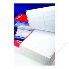 APLI Etikett, mátrixnyomtatókhoz, 1 pályás, 101,6x74,1 mm, APLI, 2000 etikett/csomag (LCA0559) etikett