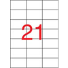 APLI Etikett, univerzális, 70x42,4 mm, APLI, 10500 etikett/csomag
