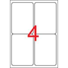 APLI Etikett, univerzális, 99,1x139 mm, kerekített sarkú, APLI, 400 etikett/csomag etikett