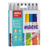 """APLI Filctoll készlet, 7,5 mm,  """"Kids Magic"""", 6+2 különböző szín"""