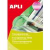 APLI Fólia,írásvetítőhöz,A4,fénymásolóba,adagolóbatölthető,APLI