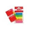 APLI Index standard jelölőcímke, 5 színben, 125 db