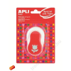 "APLI Mintalyukasztó, tulipán, APLI ""Creative"", piros"