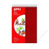 APLI Moosgumi, 210x297 mm, A4, frottír, APLI Eva Sheets, vegyes színek (LCA13177)