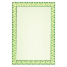 APLI Oklevélpapír, A4, 115 g, APLI, smaragdzöld fénymásolópapír