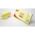 APLI Öntapadó jegyzettömb, 40x50 mm, 3x100 lap, APLI, sárga