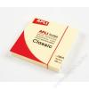 APLI Öntapadó jegyzettömb, 75x75 mm, 100 lap, APLI, sárga (LNP10975)