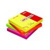 APLI Öntapadó jegyzettömb neon rózsaszín 100 lap