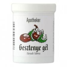 Apotheker Gesztenye gél - 125 ml bőrápoló szer