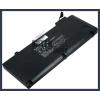 """Apple A1322 MacBook Pro 13"""" MB990J/A 63 Wh 6 cella fekete notebook/laptop akku/akkumulátor utángyártott"""