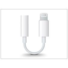 Apple Apple eredeti lightning adapter 3,5 mm jack füllhallgatóhoz - MMX62ZM/A - fehér (csomagolás nélküli) kábel és adapter