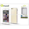 Apple Apple iPhone 6/6S hátlap - Muvit Frame TPU - clear/silver