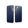 Apple Forcell Elegance Apple iPhone 6/6S oldalra nyíló mágneses könyv tok szilikon belsővel kék