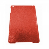 Apple iPad AIR, Műanyag hátlap védőtok, csillogós, piros