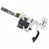 Apple iPhone 4S headsetcsatlakozós átvezető fólia fekete*