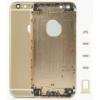 Apple iPhone 6 4.7 hátlap (akkufedél) alsó-felső takaróval, sim kártya tartóval és gombokkal arany OEM**