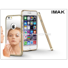 Apple iPhone 6/6S fém tükrös hátlap és keret - IMAK Mirror Zine - gold