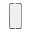 Apple iPhone 6 / 6S, Kijelzővédő fólia, ütésálló fólia, 3D Full Cover, Tempered Glass (edzett üveg), fekete