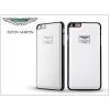 Apple iPhone 6/6S valódi bőr hátlap - Aston Martin Racing - white