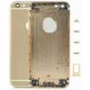 Apple iPhone 6 Plus 5.5 hátlap (akkufedél) alsó-felső takaróval, sim kártya tartóval és gombokkal arany OEM**