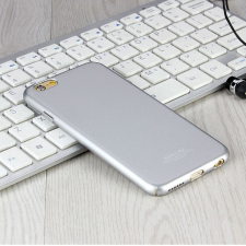 Apple iPhone 6 Plus/6S Plus hátlap képernyővédő fóliával - IMAK Jazz II - ezüst tok és táska