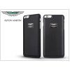 Apple iPhone 6 Plus/6S Plus valódi bőr hátlap - Aston Martin Racing - black