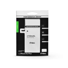 Apple iPhone 6S Plus akkumulátor - Li-polymer 2750 mAh - utángyártott mobiltelefon akkumulátor