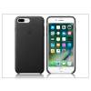 Apple iPhone 7 Plus/iPhone 8 Plus eredeti gyári bőr hátlap - MMYJ2ZM/A - black