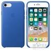 Apple iPhone 8/7 gyári bőr hátlap tok, elektromos kék, MRG52ZM/A