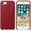 Apple iPhone 8/7 gyári bőr hátlap tok, piros (PRODUCT)RED, MQHA2ZM/A