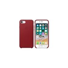 Apple iPhone 8/7 gyári bőr hátlap tok, piros (PRODUCT)RED, MQHA2ZM/A tok és táska
