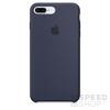 Apple iPhone 8 Plus/7 Plus gyári szilikon hátlap tok, éjkék, MQGY2