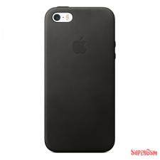 Apple iPhone SE Leather Case, Black tok és táska