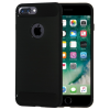 Apple iPhone X Carbon vékony szilikon tok fekete
