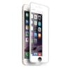 Apple iPhone X / XS 5D hajlított előlapi üvegfólia fehér
