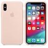 Apple iPhone XS gyári szilikon hátlap tok, rózsaszín homok, MTF82ZM/A