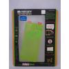 Apple Mercury Apple iPhone 5G/5S/5SE elő- és hátlapi kijelzővédő fólia lime