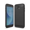 Apple Samsung J530 Galaxy J5 (2017) Carbon vékony szilikon tok fekete