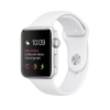 Apple Watch 1 42mm Silver Alu Case with White Sport Band  MNNL2ZD/A