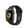 Apple Watch S3 MR352 38mm Aluminium Grey Plastic Sport Band Grey