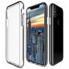 AppleKing Edzett ütésvédő és esés álló tok iPhone X készülékre - átlátszó