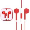 AppleKing Fejhallgató mikrofonnal és távirányítóval - Apple eszközök - piros
