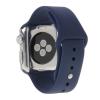 AppleKing Hosszabb sport gumiszalag - Apple Watch 42mm - sötét kék