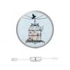 AppleKing JOYROOM visszahúzódó kábel Apple készülékekhez - 90cm - madár ketrec