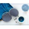 AppleKing Luxus vezeték nélküli Qi töltő textil felülettel Apple iPhone - kék