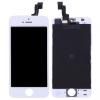 AppleKing Pótalkatrész - LCD kijelző érintőkijelzővel és kerettel Apple iPhone SE - fehér