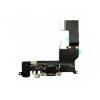AppleKing Tápforrás, adatátviteli csatlakozó és jack foglalatos flex vezeték Apple iPhone SE - űr szürke (Space Gray)